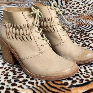 Modern Vintage Distressed Booties